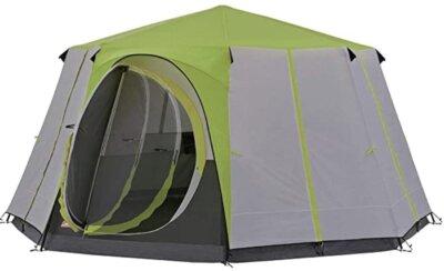 Coleman - Migliore tenda da campeggio per forma ottagonale