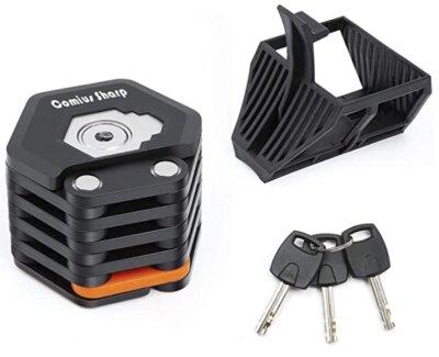 Comius - Migliore catena antifurto per bici per serratura in lega di zinco e ABS