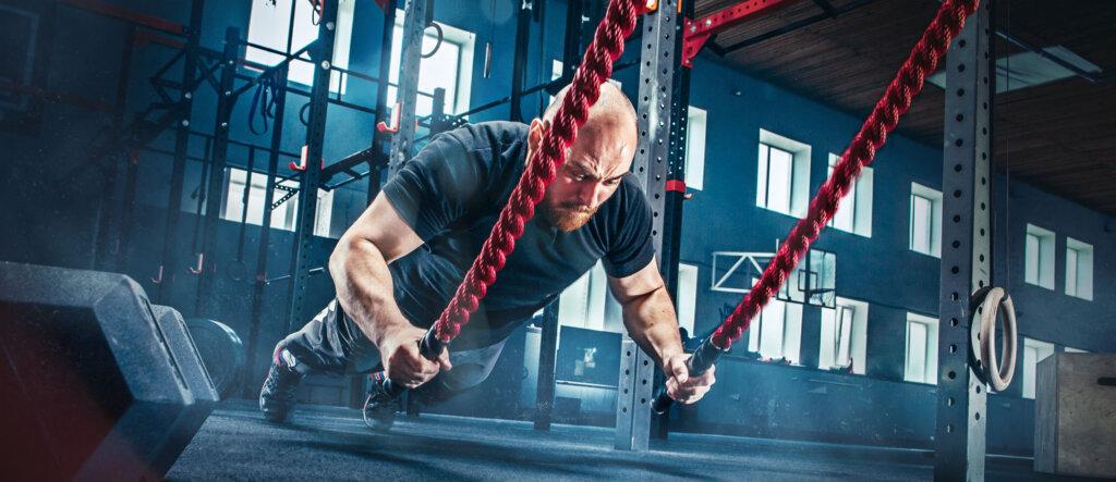 Corda battle rope