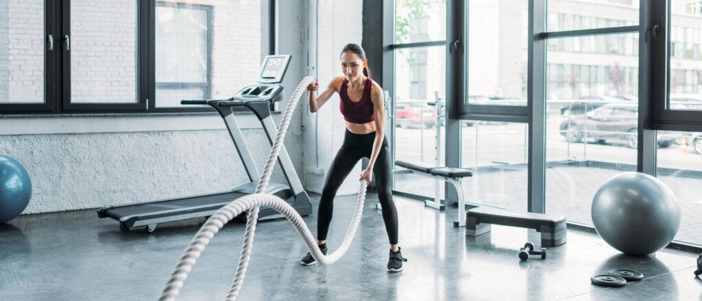 Corde battle rope