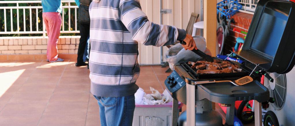 Cucinare con barbecue campingaz