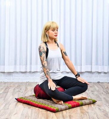 cuscino da meditazione e da yoga