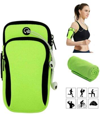 CYchen - Migliore borsa da braccio con asciugamano in regaloV