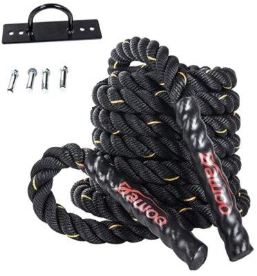 Dawoo - Migliore corda battle rope per utilizzo da qualsiasi luogo