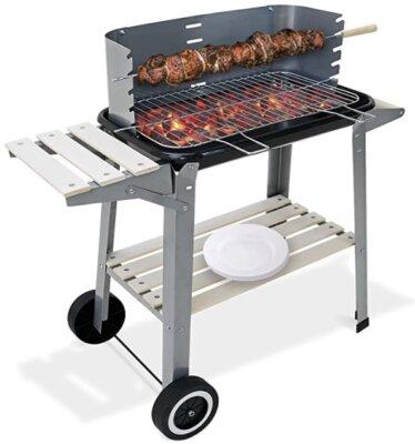 Deuba - Migliore barbecue a carbonella per piani di lavoro spaziosi