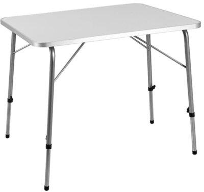 Deuba - Migliore tavolino pieghevole da campeggio per regolazione gambe tramite vite ad alette
