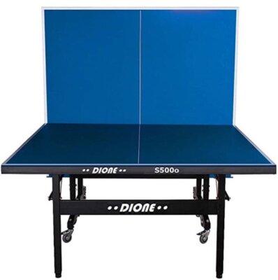 Dione - Migliore tavolo da ping pong professionale per ruote orientabili e bloccabili