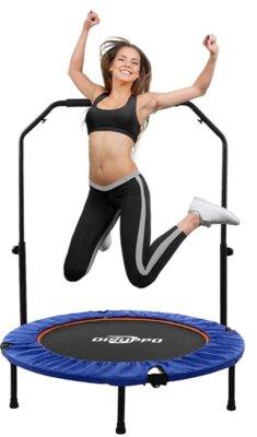 DISUPPO - Migliore mini trampolino elastico da fitness per elasticità e supporto
