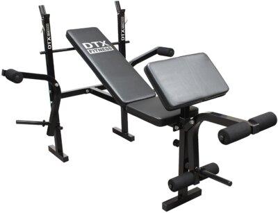 dtx fitness - migliore panca multifunzione economica per lo spessore delle imbottiture
