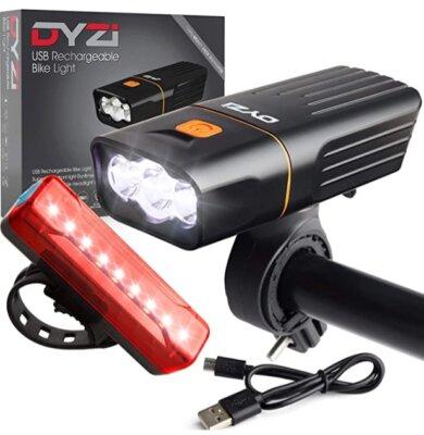 DYZI - Migliore luce per bici utilizzabile anche come power bank