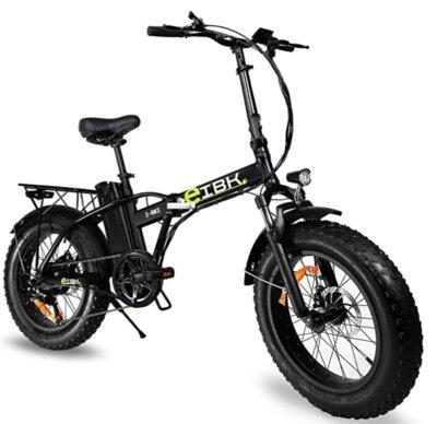 e-IBK - Migliore bici elettrica pieghevole per forcella ammortizzata