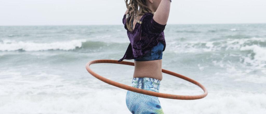 Esercizi hula hoop
