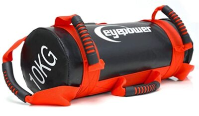 EYEPOWER - Migliore power bag con 6 maniglie antiscivolo