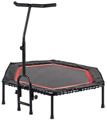 FA Sports - Migliore mini trampolino elastico da fitness per sospensioni silenziose