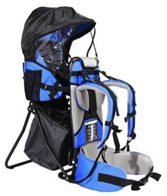 FA Sports - Migliore zaino porta bambino da montagna per borse removibili e imbottitura per il mento amovibile e lavabile