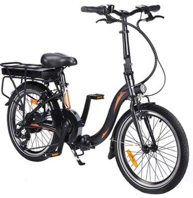 Fafrees - Migliore bici elettrica pieghevole per display digitale