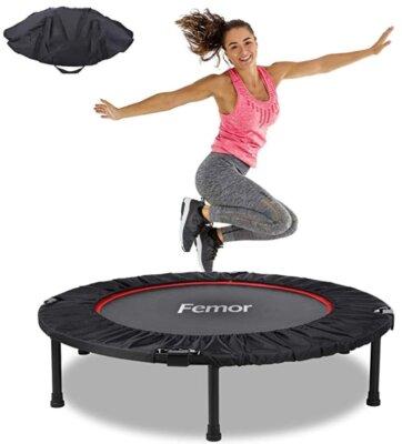 Femor - Migliore mini trampolino elastico da fitness per resistenza e impermeabilità