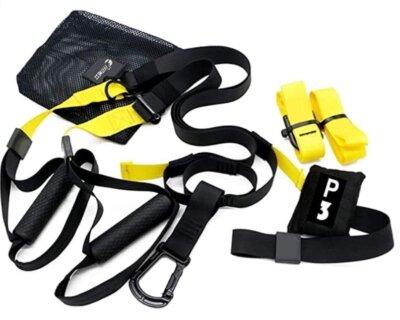 FFitness - Migliore TRX e cinghie per sospensione per manici in gomma con passantiFFitness - Migliore TRX e cinghie per sospensione per manici in gomma con passanti