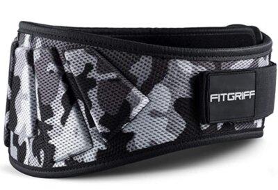 Fitgriff - Migliore cintura per sollevamento pesi per vestibilità