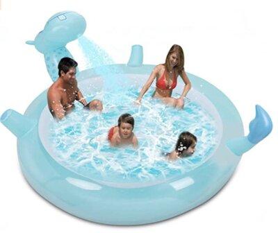 FlyFun - Migliore piscina gonfiabile per giochi d'acqua