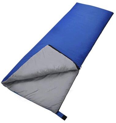 Forceatt - Migliore sacco a pelo singolo per cuscini in cotone con riempimento a spruzzo