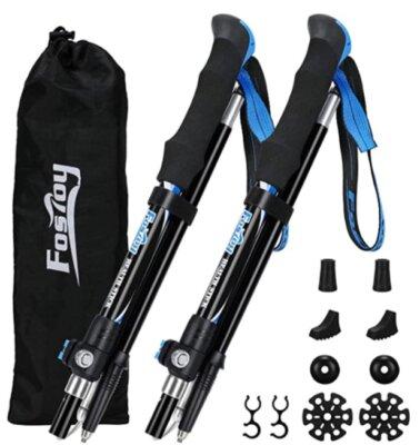 Fostoy - Migliori bastoncini da trekking per design confortevole