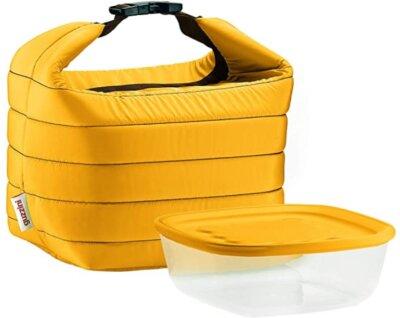 Fratelli Guzzini - Migliore borsa termica in set con contenitore salvafreschezza