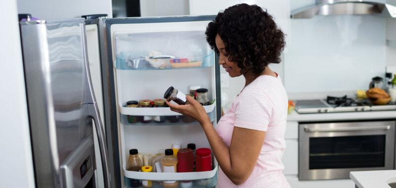 Frigorifero in cucina
