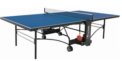 Garlando - Migliore tavolo da ping pong professionale per sistema ergonomico di sbloccaggio