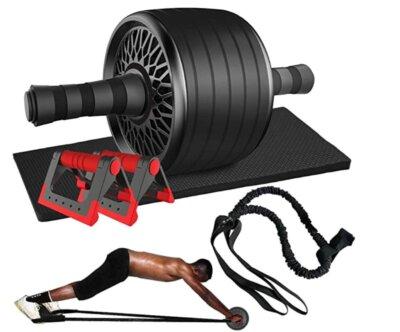 grefic - migliore ruota per addominali con maniglie per flessioni