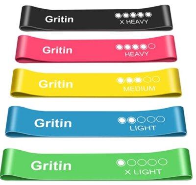 Gritin - Migliori elastici di resistenza per lunghezza estesa