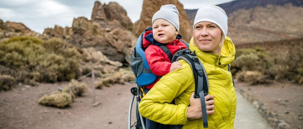 Guida agli zaini porta bambino da montagna