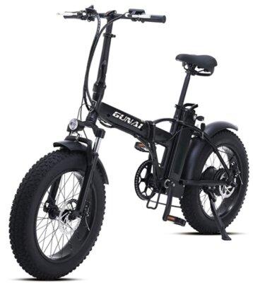 GUNAI - Migliore bici elettrica pieghevole per accessori di qualità