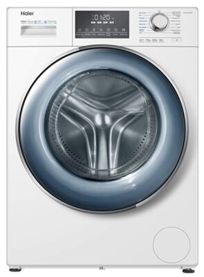 Haier HW100-B14876 - Migliore lavatrice Haier 8 kg per tamburo e oblò XL