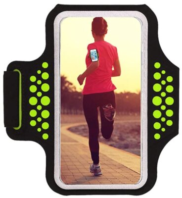 HAISSKY - Migliore fascia da braccio per running per alta sensibilità