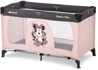 Hauck - Migliore culla da campeggio per colore rosa con Minnie