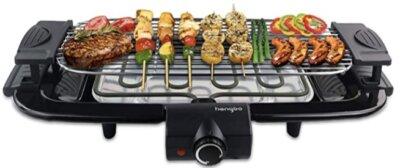 HengBO - Migliore piastra barbecue elettrico per sistema di riscaldamento in appena 3 minuti