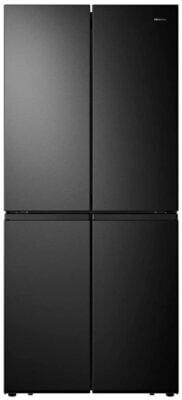 Hisense RQ563N4SF2 - Migliore frigorifero americano side by side per design minimal nero