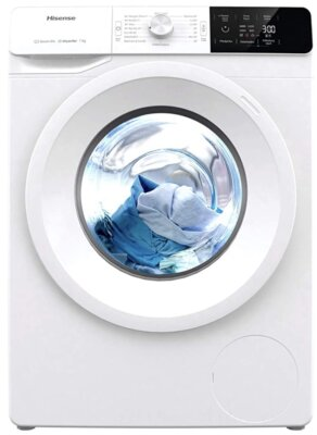 Hisense WFGE70141VM/S - Migliore lavatrice Non Non da 7 kg per vapore