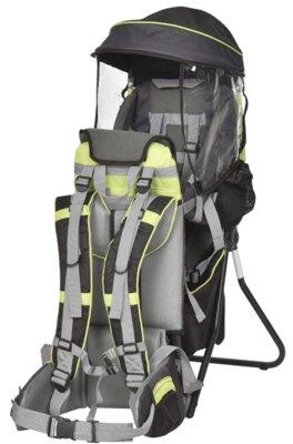 Homcom - Migliore zaino porta bambino da montagna per struttura pieghevole