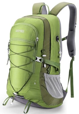 Homiee - Migliore zaino da alpinismo per nylon impermeabile professionale 420D