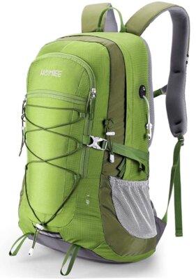 HOMIEE - Migliore zaino da trekking per nylon impermeabile professionale 420D