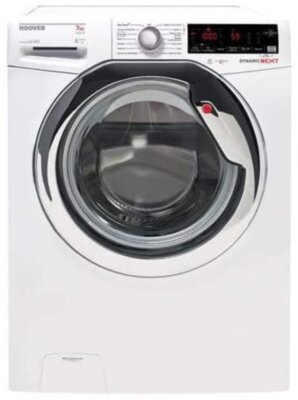 Hoover DXOA437AHC - Migliore lavatrice Hoover 7 kg per sicurezza Acquastop