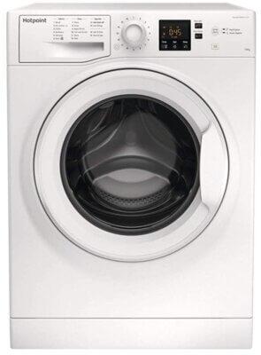 Hotpoint NSWM 1043C W UK N - Migliore lavatrice Hotpoint 10 kg per Steam Hygiene