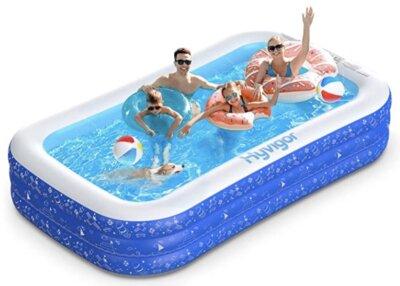 Hyvigor - Migliore piscina gonfiabile per custodia salvaspazio