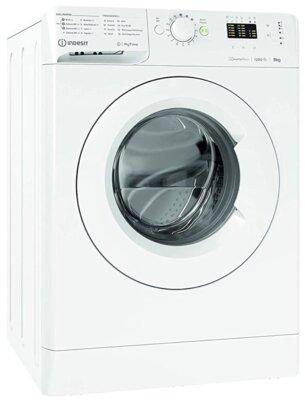 Indesit MTWA 91283 W IT - Migliore lavatrice da 9 kg per flessibilità e risparmio di tempo