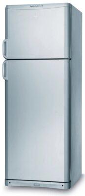 Indesit TAAN 6 FNF S - Migliore frigorifero Indesit doppia porta per design argento con piccole maniglie