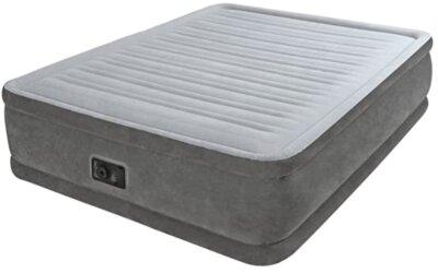 Intex - Migliore materasso gonfiabile matrimoniale per design bicolor antracite/grigio