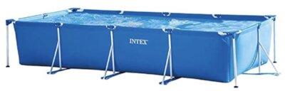 Intex - Migliore piscina da giardino fuori terra per design rettangolare