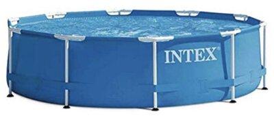 Intex - Migliore piscina da giardino fuori terra per elementi in acciaio robusto indipendenti tra loro